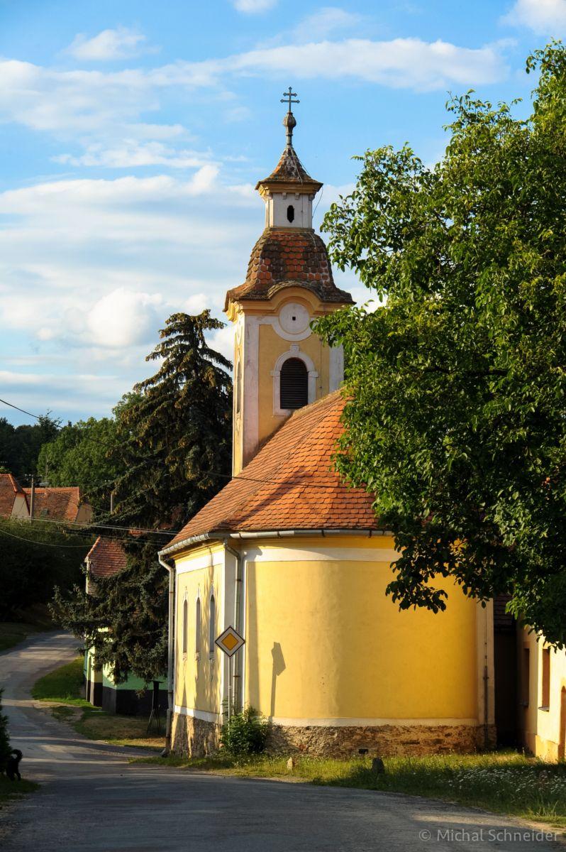 Čížov - kaple Pany Marie Sedmibolestné